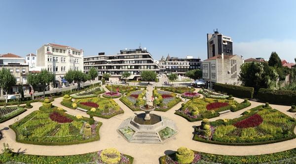 Resultado de imagen de jardines santa barbara braga