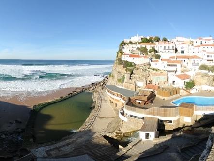 Virtual tour piscinas oce nicas das azenhas do mar for Piscina vilassar de mar