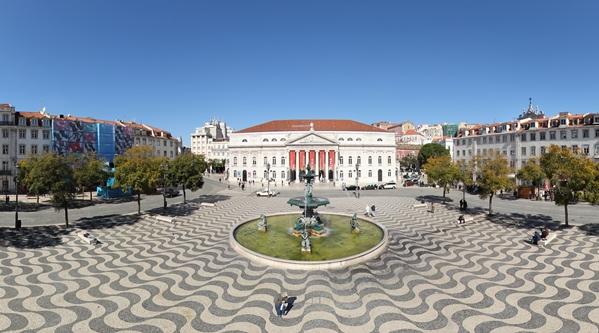 praça do rossio lisboa mapa Visita Virtual   Praça Dom Pedro IV   Rossio praça do rossio lisboa mapa